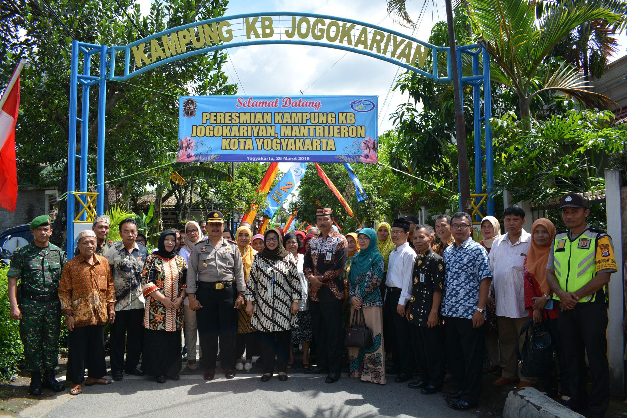 Peresmian Kampung KB Jogokaryan