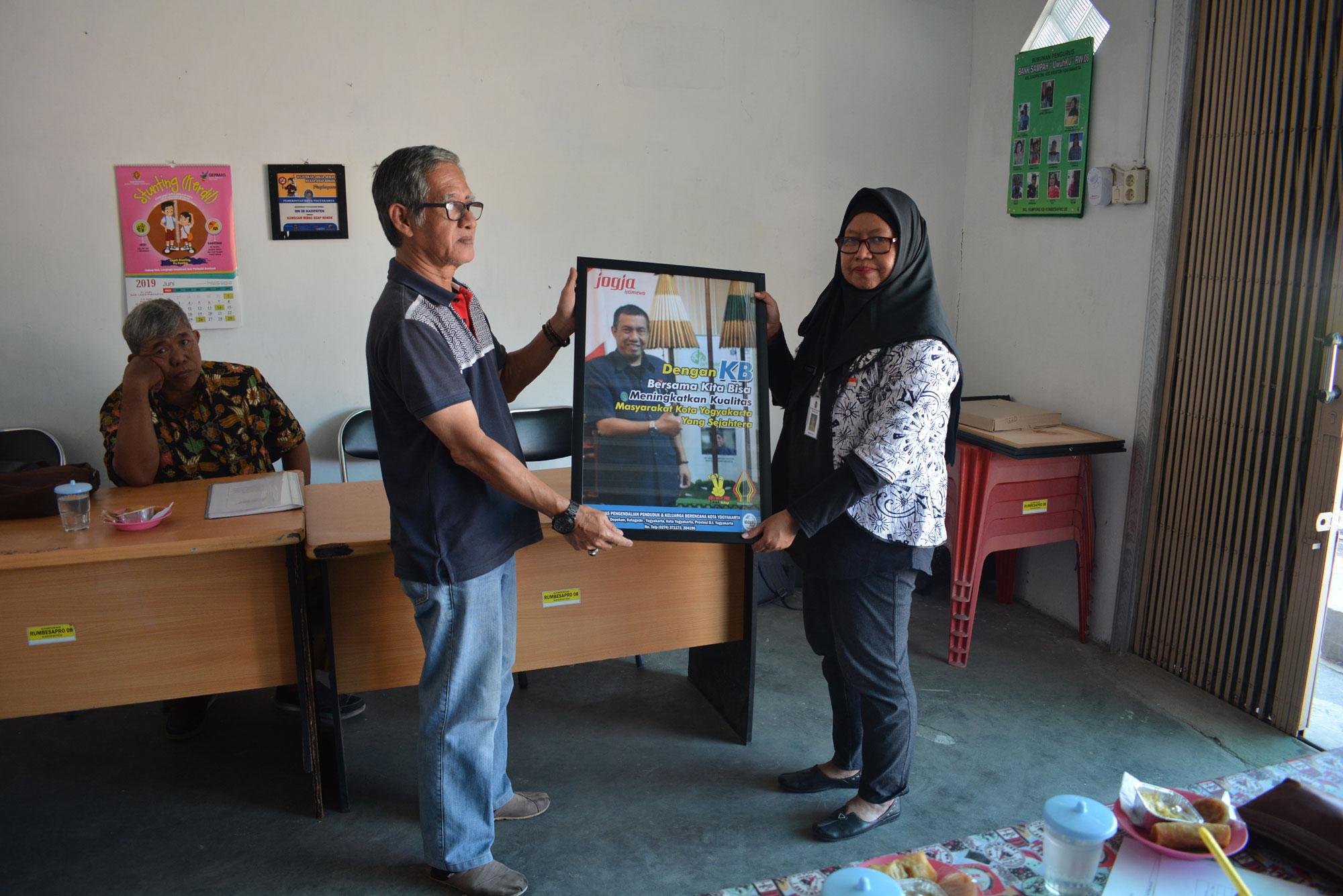 Monitoring dan Evaluasi Kampung KB Kecamatan Kraton