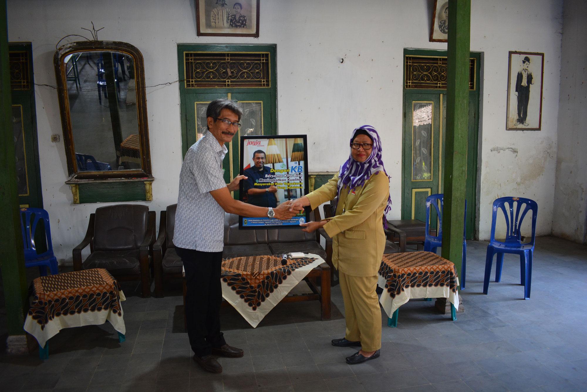 Monitoring dan Evaluasi Kampung KB Kecamatan Wirobrajan
