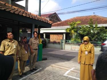 Suasana apel pagi di DPPKB Kota Yogyakarta