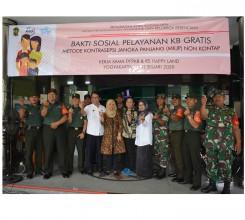 Bakti Sosial Pelayanan KB Gratis di RS Happy Land