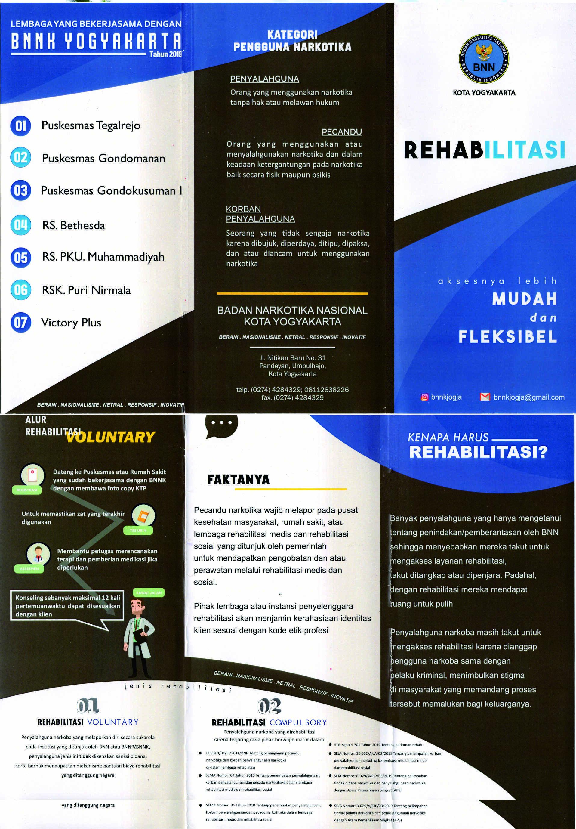 Program Rehabilitasi BNN Kota Yogyakarta