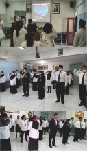 Upacara HUT ke 75 Republik Indonesia di Era Pandemi Covid-19