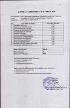 Laporan SKM Semester II Tahun 2020 DPPKB Kota Yogyakarta
