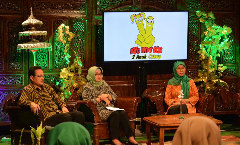 Live talkshow DPPKB di ADI TV