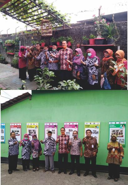 Kunjungan Kepala Perwakilan BKKBN DIY ke Kampung KB RW 08 Rejowinangun