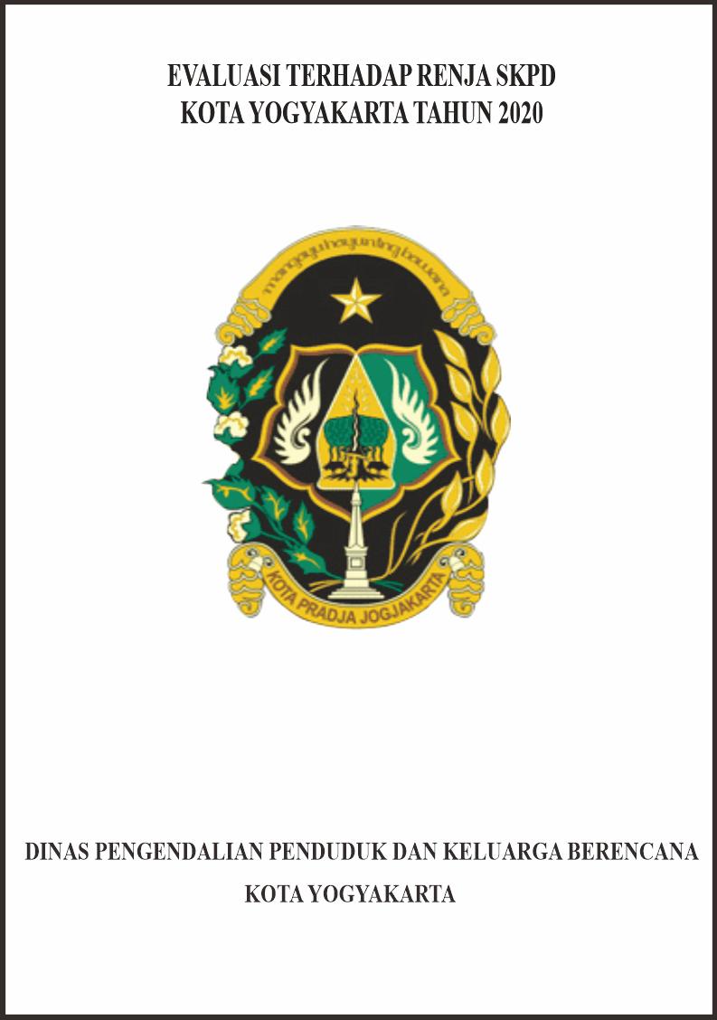 Evaluasi Hasil Renja SKPD Tahun 2020