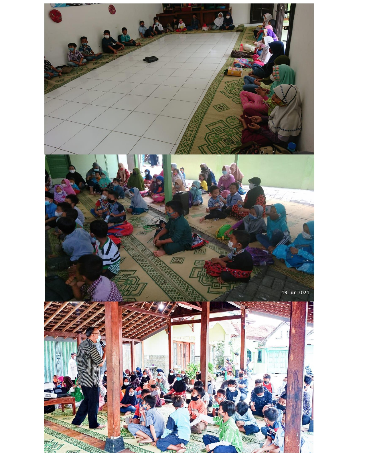 Reintegrasi Sosial Bagi Anak (Edukasi Pengenalan Tubuh dan Upaya Perlindungan Diri)