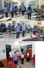 Upacara Pemerintah Kota Yogyakarta secara virtual