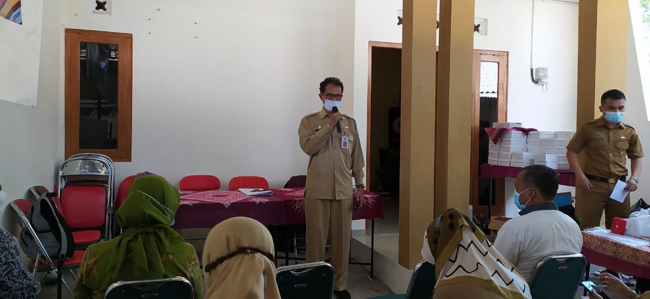 Sambutan Ka.DP3AP2KB dalam acara Baksos Pelayanan KB Gratis IUD  & Implan