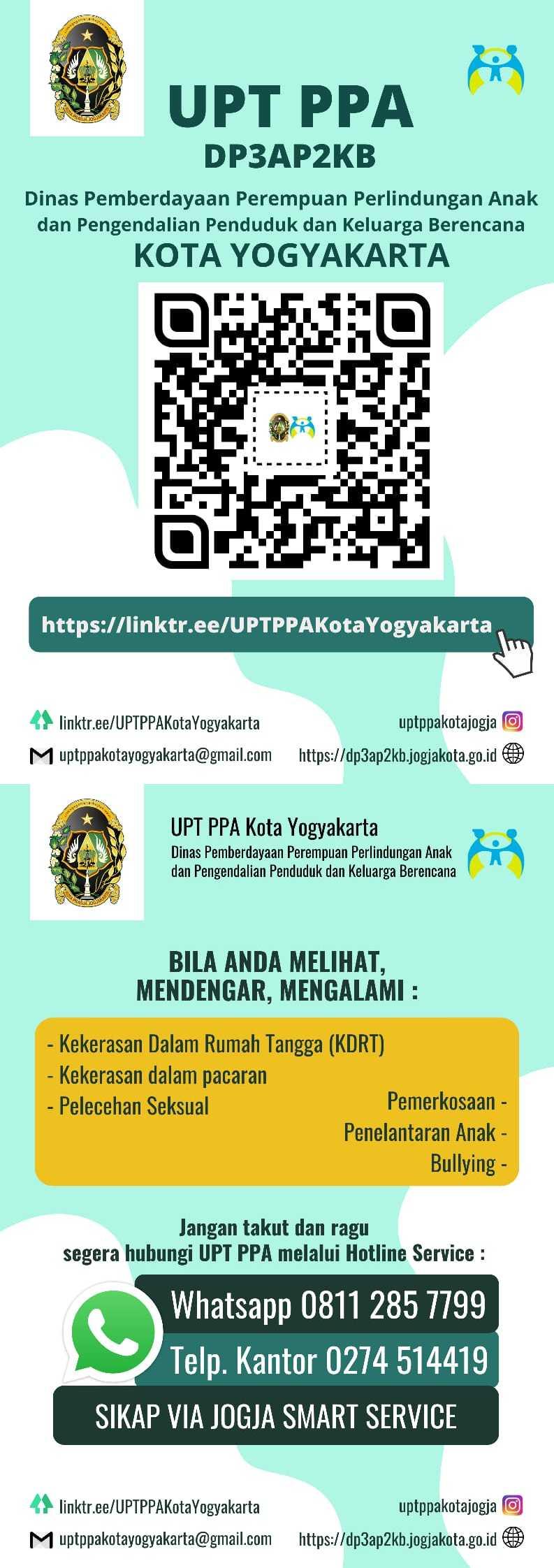 Pelayanan UPT PPA