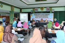 Forum komunikasi edukasi membangun generasi muda tanpa kekerasan di kecamatan Pakualaman.