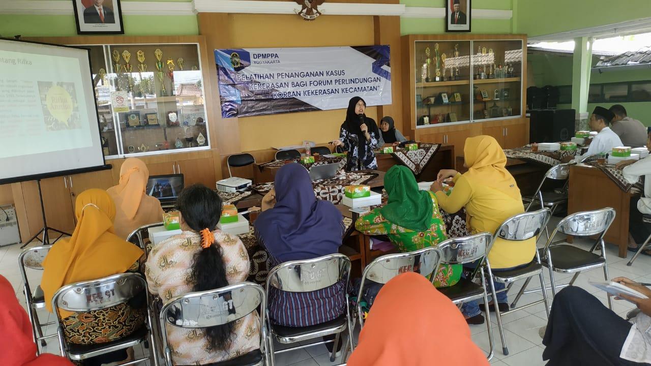 Pelatihan Penanganan Kasus Kekerasan Bagi Forum Perlindungan Korban Kekerasan Kecamatan