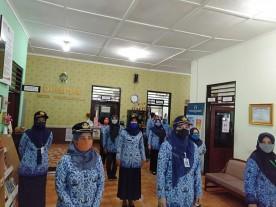 Pelaksanaan Upacara Virtual 17 Juli 2020 DPMPPA Kota Yogyakarta