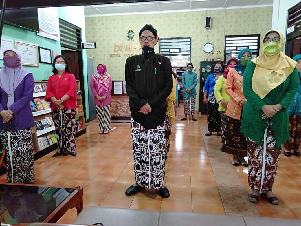 Pelaksanaan Upacara Virtual HUT Kota Yogyakarta ke 264