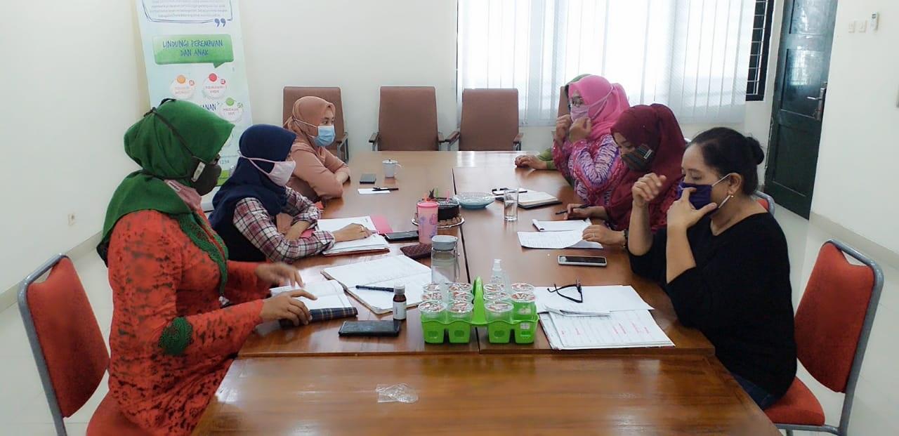 Persiapan Moitoring dan Evaluasi Klien UPT PPA