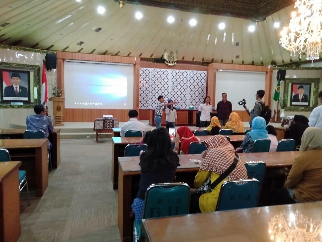 Pembukaan Hari Anak Nasional  Kota Yogyakarta tgl 13 Juli 2019