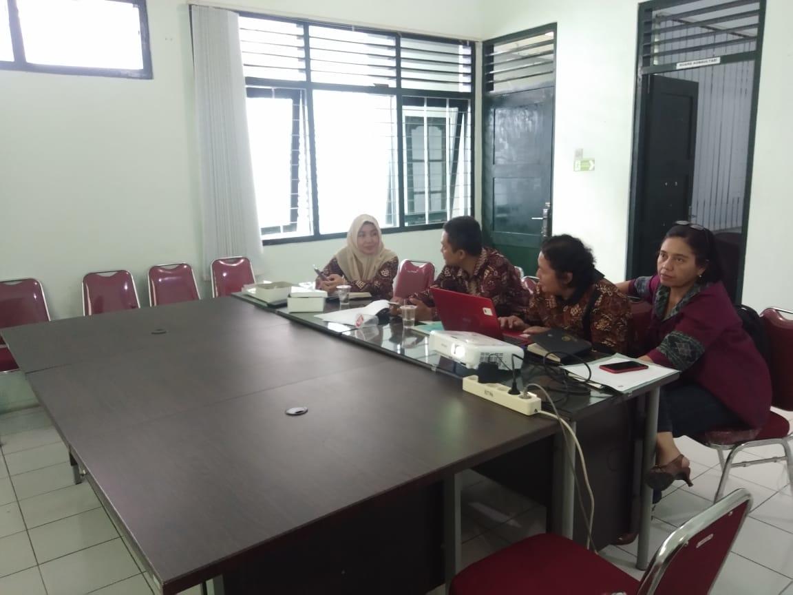 Finalisasi Penyusunan SOP di UPT P2TP2A Kota Yogykarta.