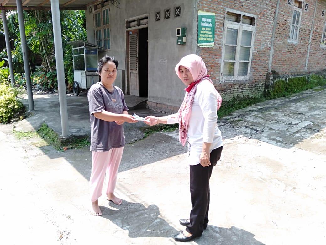 Sosialisasi pencegahan virus corona atau covid 19 di Kelurahan Rejowinangun Yogyakarta
