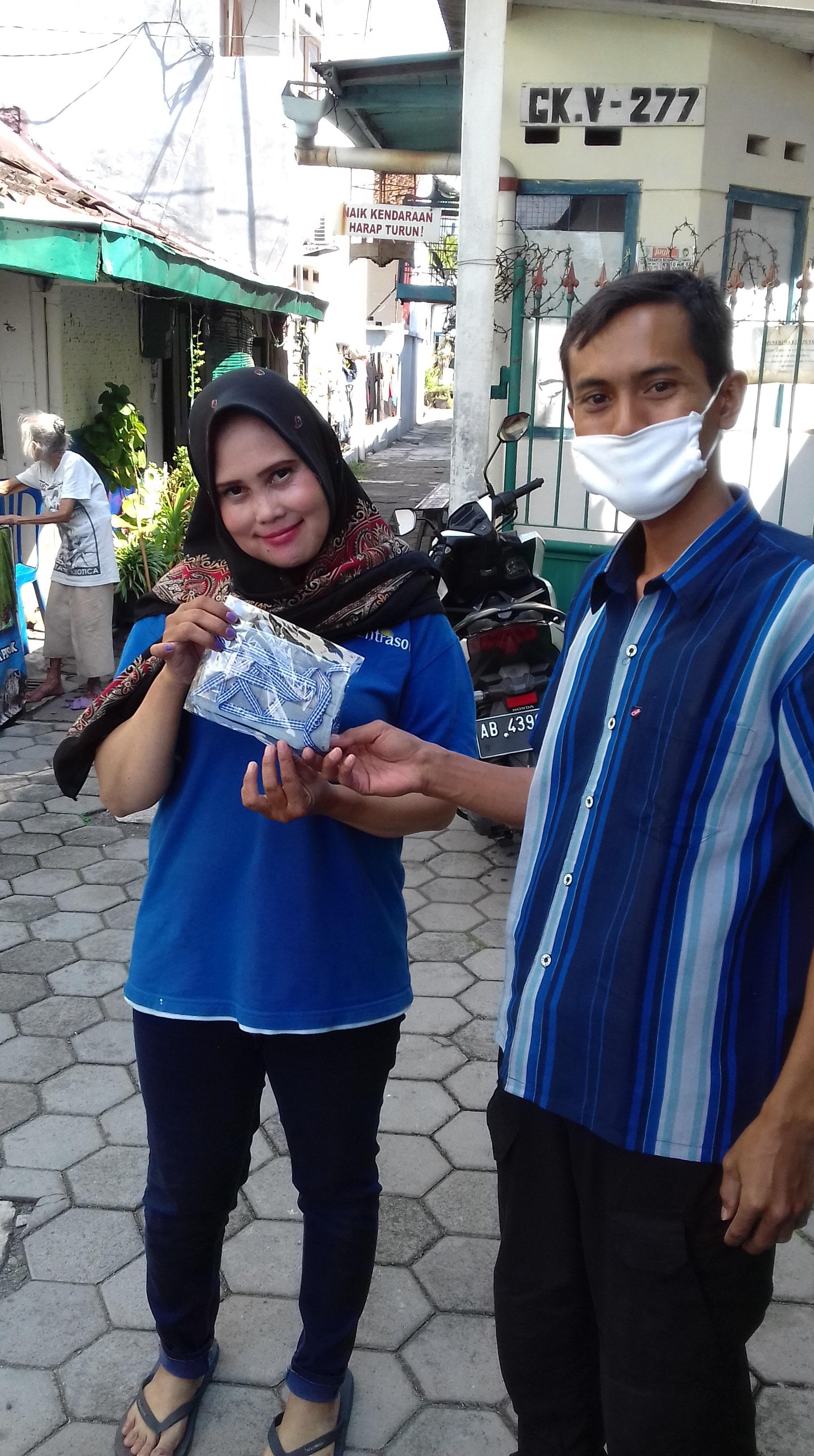 Sosialisasi pencegahan virus corona atau covid 19 di Kelurahan Terban Yogyakarta